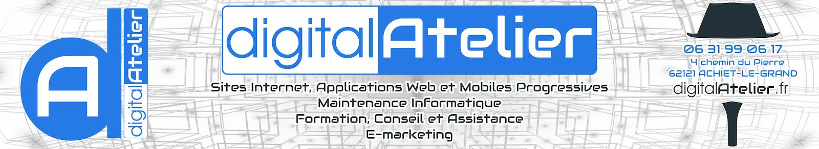 digitalAtelier - Bapaume - Création Site Internet Pro, Informatique